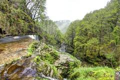 Down all the days (pauldunn52) Tags: park wet rain national waterfalls valley brecon beacons gwyn clun sgwd isaf