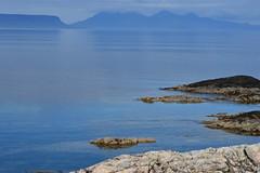 View of Eigg (kellascat) Tags: scotland highlands campsite arisaig eigg