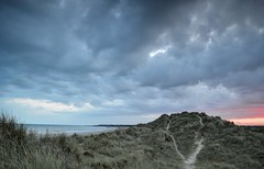 Sand Dunes 1 (hall1705) Tags: sunset sea sky beach sand westsussex dunes climping d3200