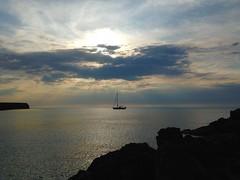 Aspetta solo un po' (Deni96bo) Tags: sunset sea holiday love nature sailboat relax boat amazing spain happiness surprise formentera