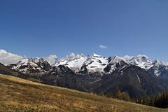 Val d'Aosta - Val d'Ayas, Mont Nery e dame di Challand da sopra Estoul (mariagraziaschiapparelli) Tags: panorama mountain primavera montagna valdaosta brusson escursionismo camminata valdayas estoul cieloenuvole allegrisinasceosidiventa