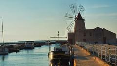 Stagione - La Salina #marsala #italy (be|design) Tags: sunset sea italy sun sunshine mare sale sicilia marsala stagnone