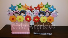 Dora the Explorer Cookie Bouquets (Cake Angels) Tags: birthday cookies cake monkey cookie boots 1st explorer diego dora angels bouquet wwwcakeangelsconz