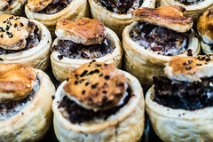 2016_05 Cornwall and Devon 20160526- 1616 (R H Kamen) Tags: uk england food cornwall farmersmarket pastry stives porkpie largegroupofobjects southwestengland cornwallengland rhkamen
