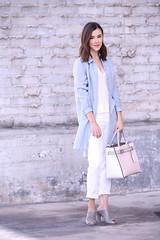 PinkReed7 (InSpadesBlog) Tags: fashion style blogger kennethcole frenchconnection ootd whitedenim croppedjeans reedkrakoff