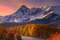 Colorado Fall Colors Mixed With Snow (kevin mcneal) Tags: autumn fall colorado fallcolors coloradorockies dallasdivide lastdollarroad mtsneffelsrange