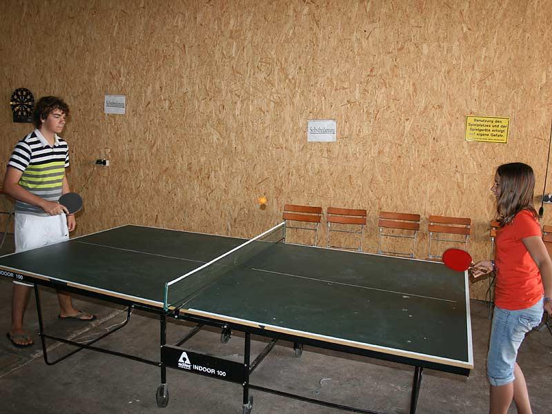 Ferienwohnungen Selz - Tischtennis