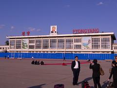 Sunan International Airport (Rita Willaert) Tags: airport northkorea pyongyang luchthaven noordkorea sunaninternationalairport