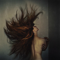 reactions in the prison cell (brookeshaden) Tags: hair surrealism gritty dirty prison tension seminude fineartphotography darkart digitalmanipulation brookeshaden