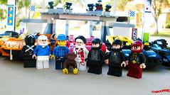 Day 336 (chrisofpie) Tags: chris pie monkey lego doug legos hero heroes minifig roger minifigure bluehat legohero chrisofpie rogeranddoug 365legos dougthechimp