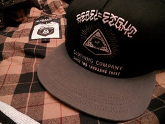 Rebel 8 Snapback (Sneaker Freak) Tags: eye mike hat giant rebel clothing pyramid 8 diamond cap eight illuminati freemason rebel8 snapback