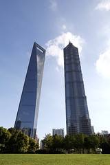 & (LouisQiu) Tags: china city travel building shanghai pudong      jinmao  lujiazui swfc     gettyimageschinaq12012