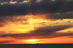 glorious rays of light (Murielle Lecerf) Tags: november peace sunsets whitby serenity goldenlight morningsunrise goldensunrise