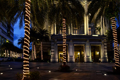 The Fullerton Hotel (chooyutshing) Tags: christmas decorations festive singapore lightup fairylights 2011 thefullertonhotel