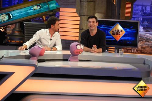 Arturo Valls visita El Hormiguero de Pablo Motos