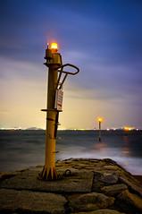 PhoTones Works #804 (TAKUMA KIMURA) Tags: ocean sea lighthouse japan night lights rocks natural      kimura   takuma  x100     photones