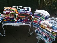 Gorgeous, gorgeous Squares make pretty Blankets! (MRS TWINS/SIBOL 'Sunshine International Blankets) Tags: squares e