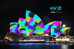 DSC_4389 (JOHNSON_) Tags: oz au sydney australia nightview  sydneyoperahouse    2011vividsydney vividsudney