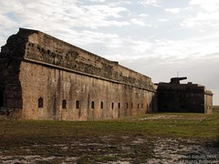 Fort Pickens (Stones 55) Tags: building history abandoned wall architecture florida fort decay military civilwar cannon artillery nationalparkservice defense pensacola pensacolabeach gulfislandsnationalseashore totten warbetweenthestates santarosaisland barrierisland escambiacounty battleofsantarosaisland josephgilberttotten josephgtotten