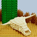 "LEGO Cow Skull • <a style=""font-size:0.8em;"" href=""http://www.flickr.com/photos/44124306864@N01/6486431475/"" target=""_blank"">View on Flickr</a>"