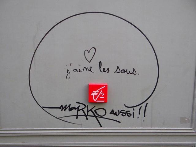 Paris Parole au mur