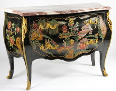 2. Louis XV style Chinoiserie Decorated Commode