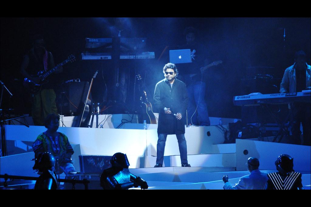 a r rahman concert dubai
