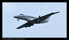 D-CEFA  Citation 525C CJ4-9250 Best Viewed By Pressing L (www.jonathan-Irwin-photography.com) Tags: airport durham flight valley ever citation tees cj4 525c dcefa wwwjonathanirwinphotographycouk
