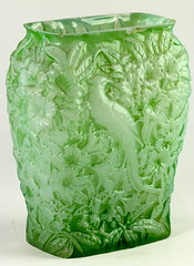 89. Early Phoenix Glass Vase