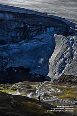 Fjallabak shs_n3_082462 (Stefnisson) Tags: summer hot ice landscape iceland spring tourist tourists steam springs area hiker hikers geothermal sland gufa hver jkull fjallabakslei ljsmyndari hverir feramaur gngumaur tristar fjallabak tristi hverasvi feramenn gnguflk stefnisson nirri