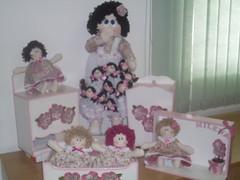 SDC19444 (Arte em Familia) Tags: flores bonecas fuxico kithigienico