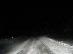 Am I driving too fast? (Jan Egil Kristiansen) Tags: road snow sooc groundblizzard hgareyn fo24 mvi7478