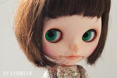 (Cyrielle 1) Tags: hair makeup shy lips blythe custom takara sv eyelids rbl simplychocolate cyrielle simplyvanilla scmouth