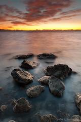En algun lugar de la manga...... (Carlos J. Teruel) Tags: atardecer mar nikon paisaje murcia nubes lightroom marinas d300 filtros 2011 tokina1116 xaviersam singhraydarylbensonnd3revgrad carlosjteruel