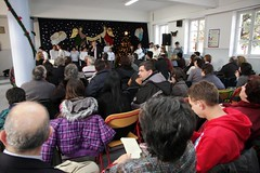 Ευχές αντάλλαξε ο Δήμαρχος Αμαρουσίου Γ. Πατούλης, με τα παιδιά του Σικιαρίδειου Ιδρύματος στη χριστουγεννιάτικη γιορτή τους