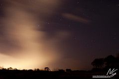 The End of a Clear Night (Nicholas Gray) Tags: trees winter light england sky cloud lake motion blur colour tree nature water field weather silhouette night clouds photoshop stars landscape photography star solar countryside big movement pond aperture long exposure raw open slow nocturnal natural side country north blurred astro system east foliage clear trail northumberland solstice hide cover northumbria pollution short shutter ambient astronomy balance longest obscured universe silhouetted f28 plough forecast seaton edit obscure dipper covering shortest delaval