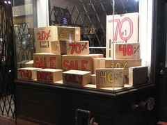 Boxing Day Shop Window... Full of Boxes - Bloor Street West The Annex Toronto Ontario Canada Saturday Night December 24 2011 - 000 (HiMY SYeD / photopia) Tags: toronto ontario canada night sale boxingday saturday theannex 40 20 70 60 70off bloorstreetwest 20off 40off twodaysonly december242011 boxingdayshopwindow fullofboxes