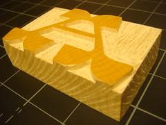 Prototype block of Brylski (Nick Sherman) Tags: block sort woodtype a brylski