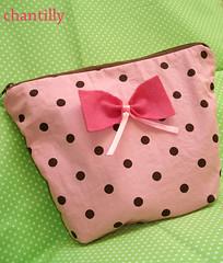 "Necessaire ""Cute"" (' Chantilly) Tags: artesanato craft feltro chantilly"