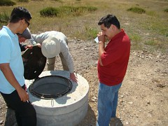 Septic tank evaluation (UNDP in Europe and Central Asia) Tags: poverty chat energy farmers environment pastures agriculture livestock kyrgyzstan solarpower hydropower undp suusamyrvalley sandyk greentechnologies sustainablelandmanagement