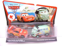 DISNEY CARS 2 KMART EXCLUSIVE CREW CHIEF 2 PACK FILLMORE WITH HEADPHONES (1) (jadafiend) Tags: scale kids toys model disney puzzle pixar remotecontrol collectors adults variation francesco launcher cars2 crewchief lightningmcqueen lewishamilton targetexclusive kmartexclusive collectandconnect raoulcaroule jeffgorvette johnlassetire carlomaserati piniontanaka carlavelosocrewchief mcqueenalive denisebeam meldorado pitcrewfillmore francescoscrewchief
