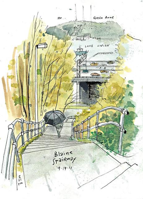 Blaine Stairway