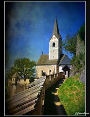 Hochosterwitz Church (oar_square) Tags: church architecture austria medieval fortification travelphotography unescoheritagesite hochosterwitzcastle