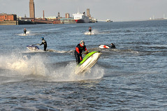 River Mersey 1 (clickrdave) Tags: iris jetski mersey merseyferry royalirisofthemersey jetskionthemersey