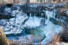 Minnehaha Falls || 4/366 (him-ix) Tags: ice water minnesota photography falls minnehaha digitalcameraclub