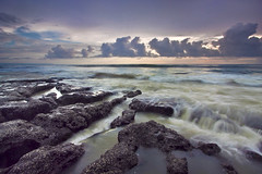 Infront of The Storm (Pandu Adnyana Photography Tour) Tags: bali cloud beach rock indonesia stream wave tanahlot melasti baliphotography balitravelphotography baliphotographytour baliphotographyguide