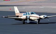 Beech 95-B55 Baron N6669D (ChrisK48) Tags: airplane aircraft beechcraft 95 1979 baron dvt phoenixaz b55 kdvt beech95b55 phoenixdeervalleyairport n6669d