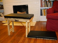 Portable Knee-Chest Chiropractic Table