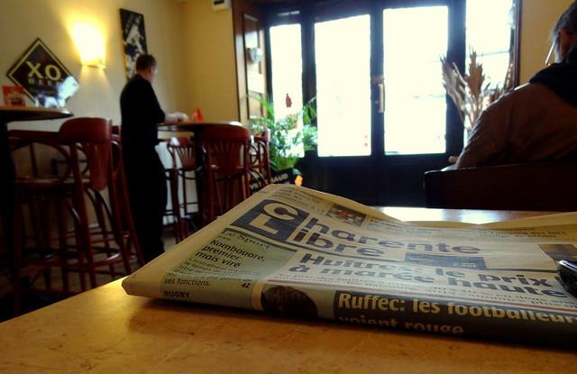 Café Central, Ruffec, Charente