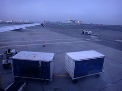 Window view from seat 22F () Tags: california ca xmas vacation holiday cold tarmac northerncalifornia misty fog clouds plane inflight airport sfo aircraft flight wing jet overcast aeroporto aerial virgin airbus windowview winglet happyholidays merrychristmas runway rtw aereo airliner vacanze avion happynewyear a320 wingtip windowseat kalifornien roundtheworld hny weekendgetaway globetrotter airplanewing a321 sanfranciscointernationalairport baggagecart virginairlines areo ksfo sanfranciscoairport jetwing airbusa320 internationalterminal baggagecarts 22f insidetheplane worldtraveler   californi virginamerica intlairport ario  sfia   virginamericaairlines interiorcabin inthecabin  internationalairport vx850 seat22f